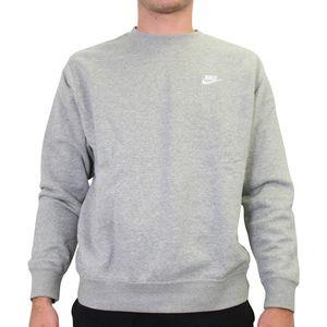 Nike Sportswear Club Sweatshirt Herren Grau (BV2662 063) Größe: L