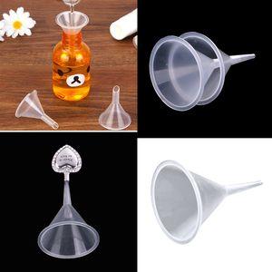 3 Stücke Trichter aus Kunststoff für Küche und Haushalt Öl-Trichter