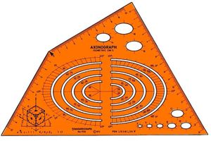 Schablone Isometric STANDARDGRAPH 1158
