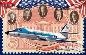 Roden Lockheed VC-140B Jetstar  1:144 324