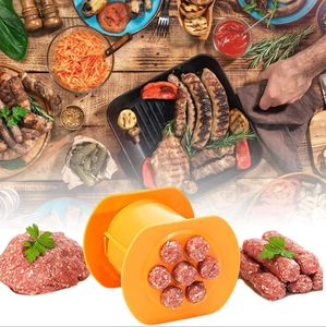 Cevapcici Presse Maker Press für Burger, Kroketten, Köfte, Cevap, Cevapomat,Gnocchi