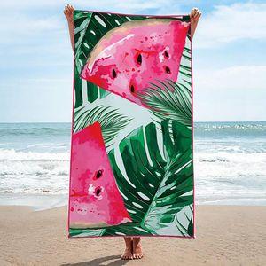 Premium Saunatuch Strandtuch Handtuch Badetuch Waschlappen Gästetuch Duschtuch 150x70cm Wassermelone