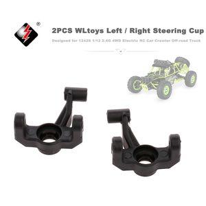 2 Stück WLtoys Links / Rechts Lenkung Cup fuer 12428 1/12 2,4G 4WD Elektrische RC Auto Crawler