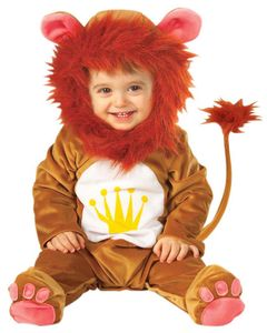 Kinderkostüm Löwe Löwenkostüm Baby Babylöwe 90 cm