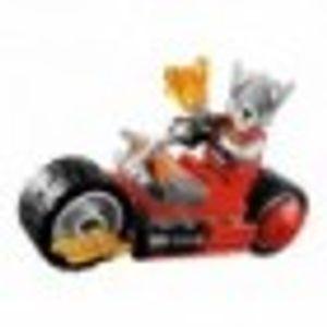 LEGO 30265 Worriz' Fire Bike Polybag  LEGO Anzahl Anleitungen: 1, Anzahl Minifiguren: 1, Anzahl Teile: 27, Gewicht: 0.031 KG, Altersberatung: 6+, Veröffentlicht in: 2014, Thema: LEGO Legends of Chima, Zahl: 30265-1, Verpackungsmaße (lxbxh): 16.5 x 18.5 x 1 cm, EAN: 5702015154949