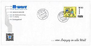 FDC mit 560-Cent Briefmarke 'Afrikaner', 2015, ungel. M-ware® ID15671