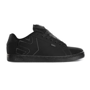 Etnies - Fader Sneaker Herren Skate Black/Black/Black Dirty Wash Skateschuh Größe 45,5 (US 11,5)