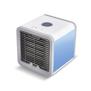 Air mobiler Luftkühler mit USB Anschluß Luftbefeuchter und Erfrischung 3 Kühlstufen - 7 Stimmungslichter