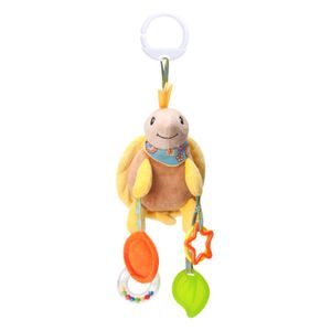 Baby Kinder Kinderwagen Kinderbett Handbell Kinderwagen hängen Hand Glocke Anhänger Kuscheltier,Schildkröte