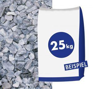Marmorsplitt Ice Blue 8-16mm 25kg Sack