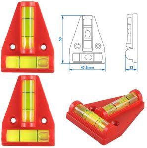 2 x Kreuzwasserwaage Wohnwagen Wasserwaage Anhänger Mini Pyramide Caravan BWI