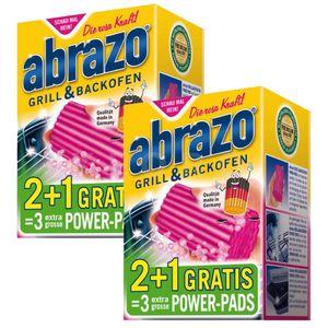 abrazo® GRILL POWER-PADS   2 Pakete mit je 2 Stück + je 1 Pad GRATIS   285536