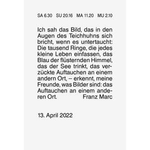 BRUNNEN Tagesabreißkalender Nr.1 1070301002 3,8x5,35cm