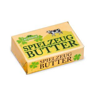 2 Stück Erzi Butter, Spielzeug-Butter, Holz-Butter, Kaufladenzubehör