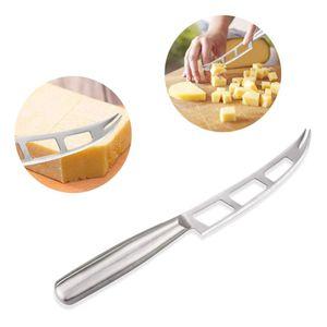1 Stück Käsemesser Edelstahl-Käsemesser mit Gabelspitzen-Butterschneider