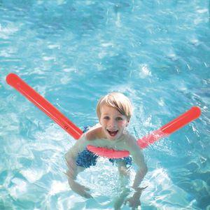Schwimmnudel 160 cm Wasser Aufblasbare Schwimmhilfe Pool Schwimmstange rot