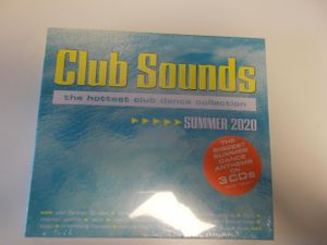 Club Sounds - the hottest club dance collection - Summer 2020  OVP/Neu