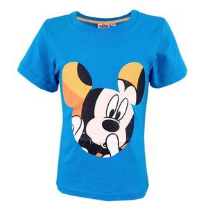 Disney Mickey Maus T-Shirt Hellblau - Größe Blau 110