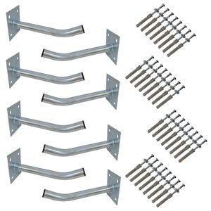 8x PremiumX Autoreifen Wandhalter 35 cm Reifenhalter für Felgen Halterung
