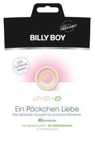 BILLY BOY Ein Päckchen Liebe 40er Mix-Btl. - Farbe: Transparent