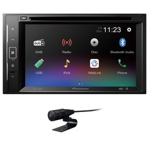 Pioneer AVH-A240DAB - DAB+ | Bluetooth | TouchScreen | CD / DVD Autoradio