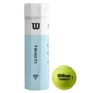 Wilson Triniti Tball 4 Ball Can Yellow Yellow -