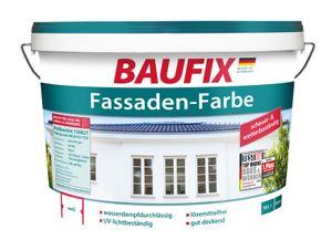 Baufix Fassadenfarbe 10L für ca 60m²