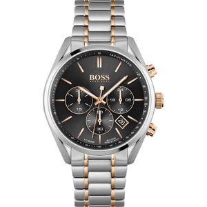 Hugo Boss Herren Chronograph Champion Armbanduhr 1513819 - Edelstahl/Mehrfarbig/Schwarz