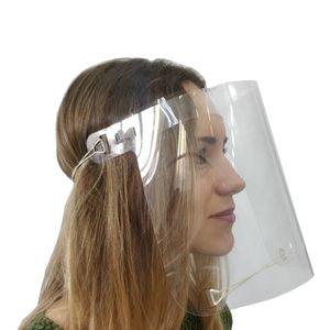 Schutzhelm Gesichtsmaske Gesichtsschutz transparent Visier aus Kunststoff Schutzmaske Schutzvisier Gesichtsschirm