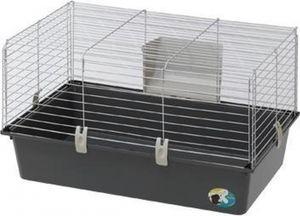 meerschweinchenkäfig Cavie 80 77 x 48 x 42 cm stahlgrau