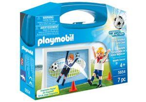 Playmobil Sports & Action Soccer Shootout Carry Case, 4 Jahr(e), Junge, Mehrfarbig, Kunststoff, Nicht für Kinder unter 36 Monaten geeignet, Geschlossene Box