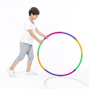 50CM Fitness Hula Hoop Gewichtsverlust Hula Hoop Professionelle Hula Hoop Kinder abnehmbare Farbe kleinen Hula Hoop