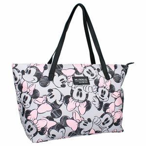 Disney reisetasche Minnie Mouse junior 33 L Polyurethan schwarz/weiß