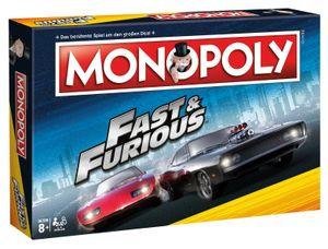 Monopoly Fast and Furious Edition Spiel Gesellschaftsspiel Brettspiel deutsch