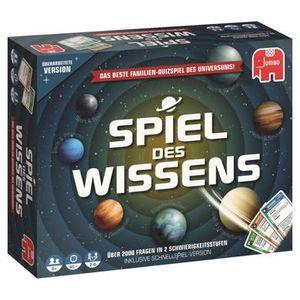 Jumbo Spiel des Wissen Original - Quiz-Spiel - 45 min - Kinder & Erwachsene - Junge/Mädchen - 8 Jahr(e) - Mehrfarbig