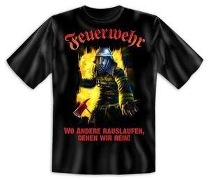 Feuerwehr T-Shirt Gr. XL - T-Shirts