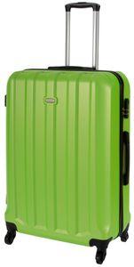 Cahoon – Hartschalen-Koffer Trolley 4-Rollen Reisekoffer / XL 102 Liter / Farbe: grün