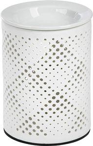 ONVAYA® Duftlampe | Elektrisch | Farbe: Creme weiß | Aroma Diffuser | Aromalampe | Duftstövchen | Modernes Duftlicht | Modell Katharina