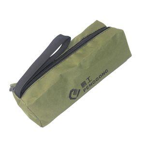 Oxford Werkzeugtasche Werkzeugrolltasche Rolltasche Werkzeug Tasche mit Reißverschluss Armeegrün 240 * 85 * 70 mm