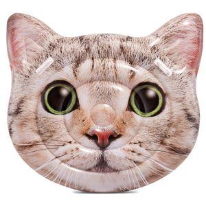 Intex Badeinsel Katze sweet Cat Luftmatratze mit Griffen 147 x 135 cm