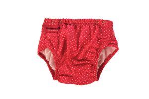 Konfidence Aqua Nappy Schwimmwindel Badewindel Babybadehose 3-30 Monate Pink-weiß gepunktet