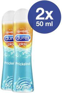 Durex Play Prickelnd Gleit- & Erlebnisgel mit prickelndem Effekt 2 x 50ml
