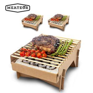 Meateor umweltfreundlicher Einweggrill