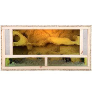 Repiterra Holz Terrarium mit Frontbelüftung 100x50x50 cm