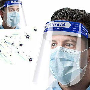 1PCS Gesichtsmaske Visier Spuckschutz für Ärzte Brillenträger  Gesichts Schutzschild  Kunststoff Schutzvisier Face Shield