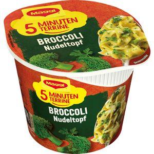 Maggi 5 Minuten Terrine Broccoli Nudeltopf Gemüsenudeltopf 51g