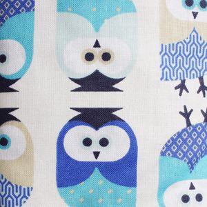 Odenwälder 8900-3-1166 Laufgittereinlage Eule blau 100x100cm