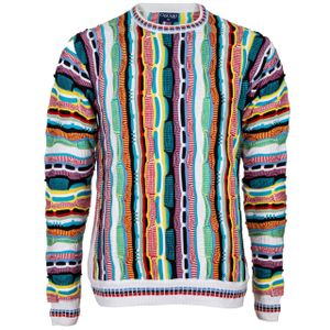 Cascallo® Herren Strickpullover - Style: Nicky - Bunt Weicher Deluxe Pullover XL