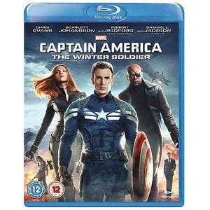 Disney Captain America: The Winter Soldier, Blu-ray, Abenteuer, 2D, Englisch, 1 Disks