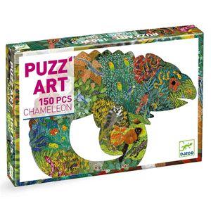 DJECO Puzz'Art: Chameleon  150 Teile Puzzle